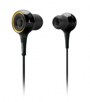 Philips SHE6000/28 In-Ear Surround Sound Headphones (Black)