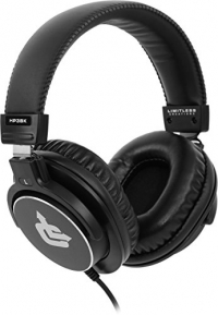 Limitless Creations HP3BK Over-Ear Professional Studio Monitor Headphones