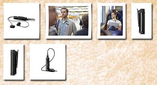 Sony mw600 hi-fi wireless headset with fm radio retail packaging black