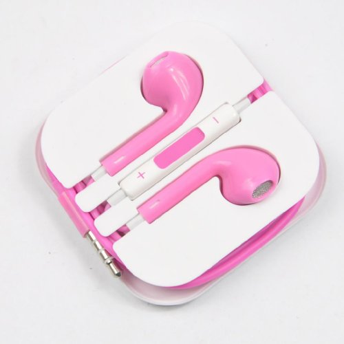 Apple earbuds case pink - apple earbuds used
